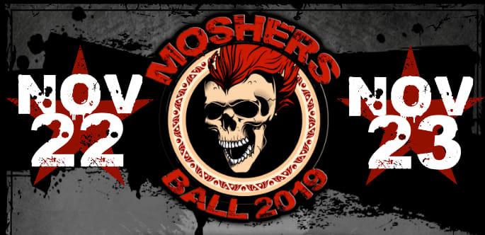 """Voodoo Custom Guitars at """"Moshers Ball 2019"""""""