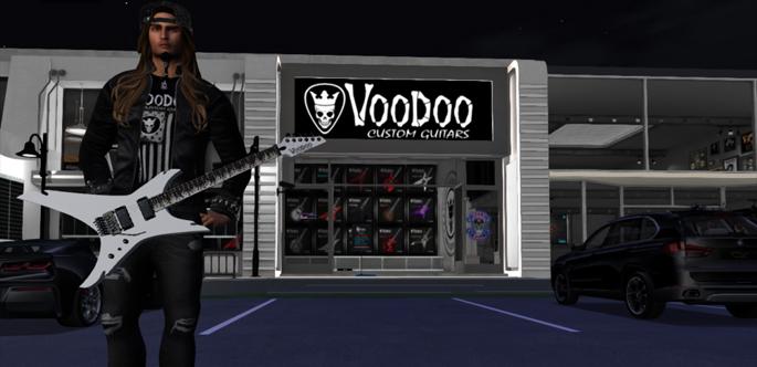 Voodoo Custom Guitars opens world's 1st Vitual Store!