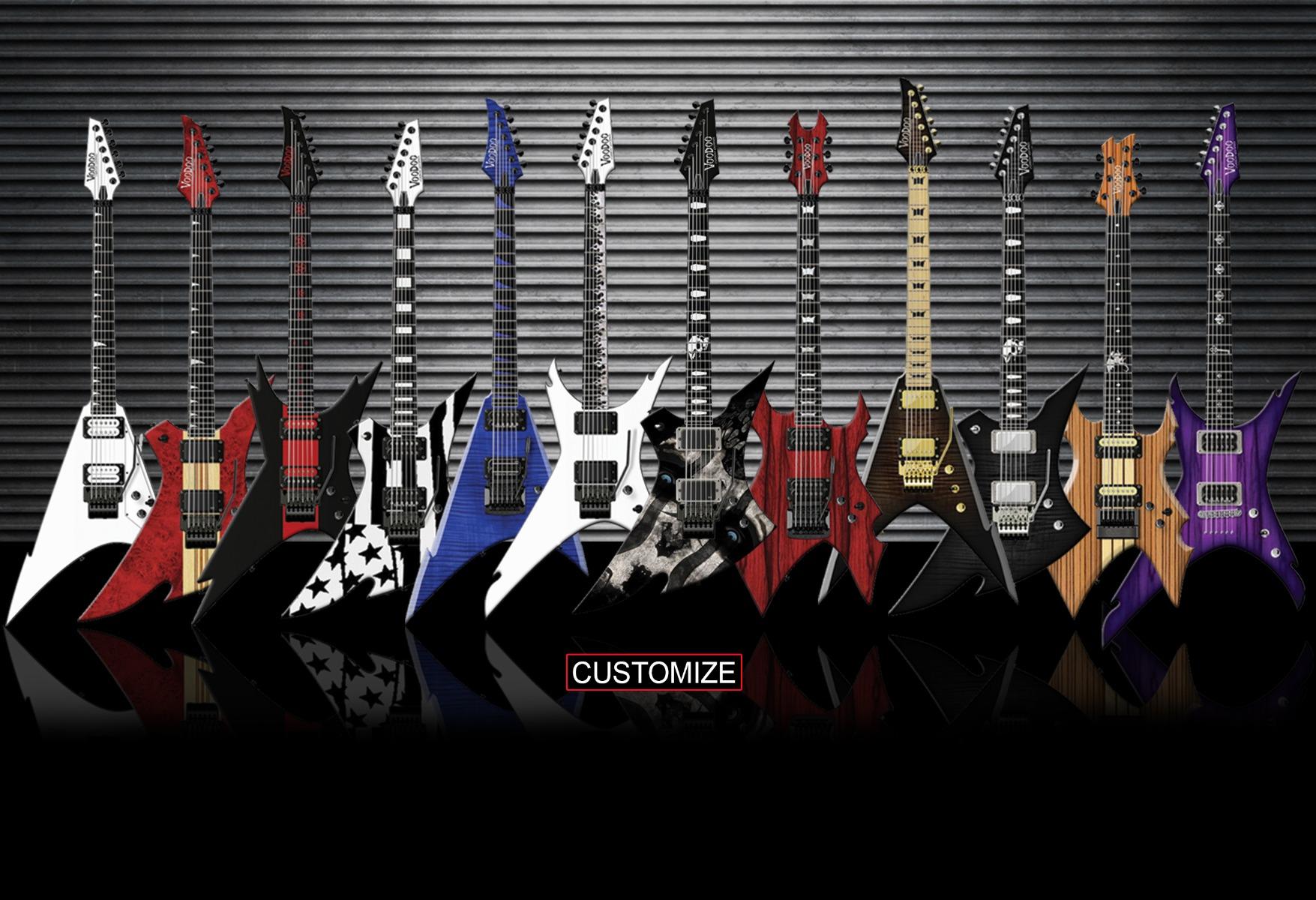 Home | Voodoo Custom Guitars
